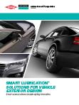 Molykote lubricación para exterior de vehículos