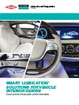 Molykote lubricación para interior de vehículos