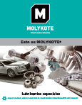 Molykote aplicaciones