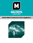 Molykote lubricantes para automoción