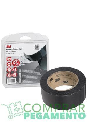 3M 4411B cinta selladora negra