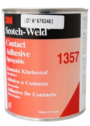 3M 1357 adhesivo contacto Bote 1Litro (Caja 6uds)