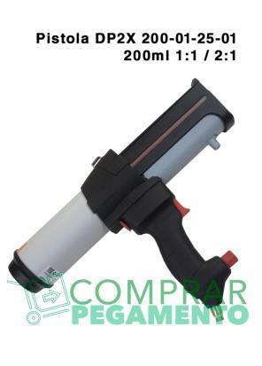 Pistola pegamento neumática 2K MIXPAC™ DP2X 200-01-25-01