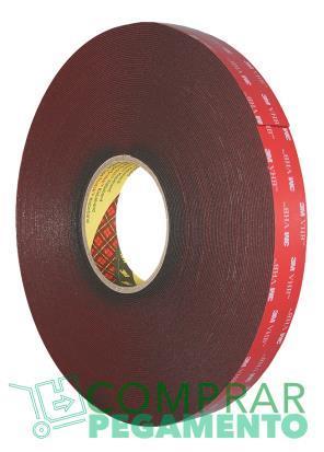 3M 4611 VHB cinta adhesiva doble cara gris