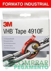 3M 4910 F VHB cinta adhesiva doble cara transparente