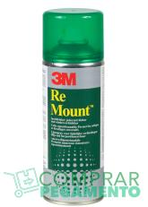 3M Re Mount adhesivo reposicionable