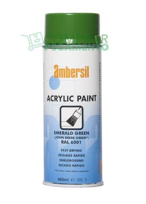 AMBERSIL ACRYLIC PAINT EMERALD GREEN
