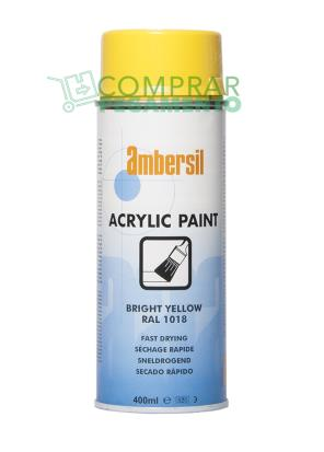 AMBERSIL ACRYLIC PAINT BRIGHT YELLOW