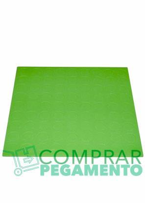 Discos adhesivos troquelados CD verde
