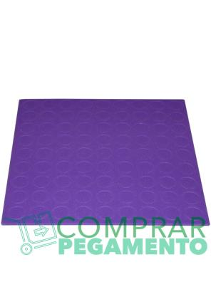 Discos adhesivos troquelados CD violeta