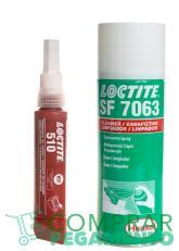 Pack Loctite 510 + Loctite 7063 (Formador de juntas de alta resistencia)