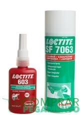 Pack Loctite 603 + Loctite 7063 (Retenedor de alta resistencia)