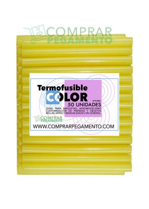 Hotmelt termofusible amarillo