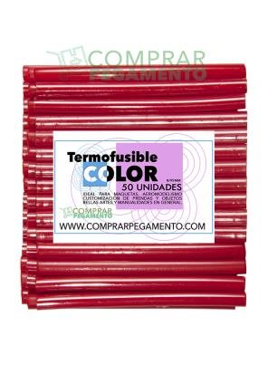 Hotmelt termofusible rojo